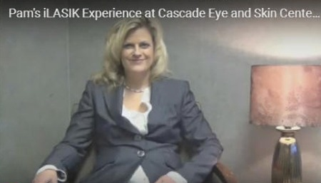 Click to enlarge photo of Pam's iLASIK Experience at Cascade Eye and Skin Centers